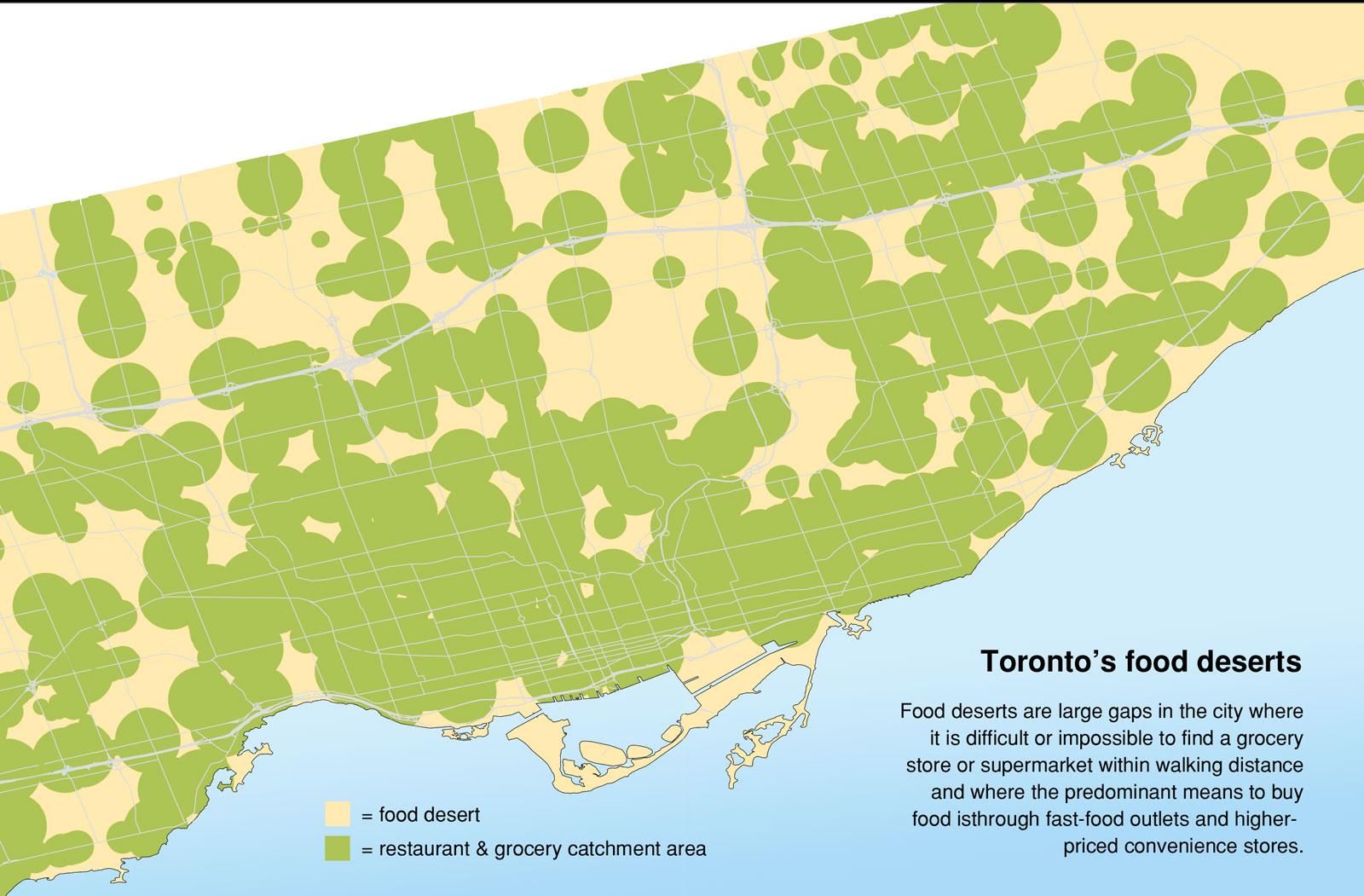 food deserts. food deserts  canadian environmental health atlas